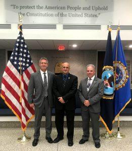 Photo of Lt. Trautman, NRP Capt. Rob Marconi , NRP Major Lloyd Ingerson