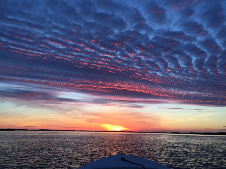 Photo of sunrise view from boat