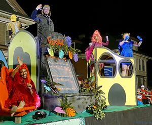 Alsatia Mummers Day Parade