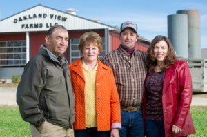 Governor's Ag Hall of Fame Inductees (L-R) Richard and Jan Edwards, Scott and Jill Youse