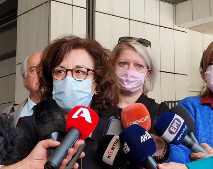 Μάγδα Φύσσα: Δικαίωση για μας και γι' αυτόν τον κόσμο που αγωνίστηκε