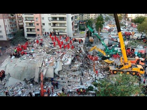 Μετά από 65 ώρες κάτω από τα ερείπια διασώθηκε η τρίχρονη Ελίφ στη Σμύρνη…