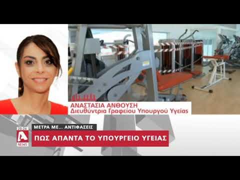 Το Υπ.Υγείας λύνει τις απορίες των πολιτών για τα γυμναστήρια και τις εκκλησίες