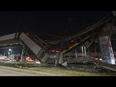 Μεξικό: Δεκάδες νεκροί και τραυματίες σε δυστύχημα στο μετρό…