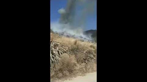 ΝΑΞΟΣ: φωτιά Αγγίδια Νάξου  (20-06-2021)