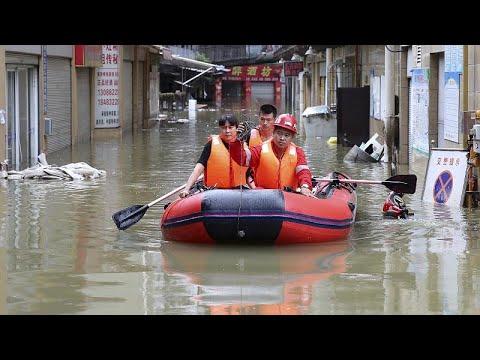 Κίνα: Αυξάνεται ο απολογισμός των νεκρών από τις πλημμύρες…
