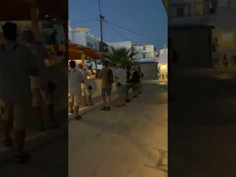 Νάξος: Η Αγία Φανφάρα κάνει βόλτες στο νησί μας