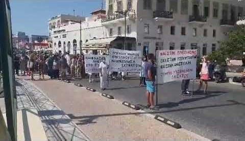 Σύρος: Πορεία Ιατρικού προσωπικού