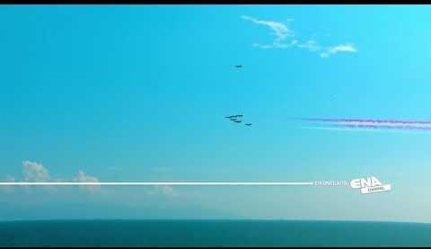 Το πέρασμα των Saudi Hawks από την Καβάλα