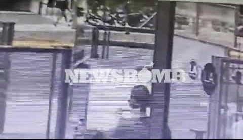 Επίθεση στην Αλεξάνδρας: Βίντεο ντοκουμέντο – Η στιγμή που οπλίζει ο δράστης
