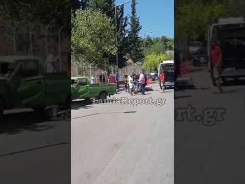 LamiaReport.gr: Τροχαίο με μηχανή στη Λαμία