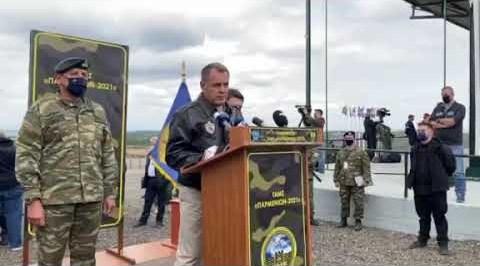 Ο υπ. Άμυνας Νίκος Παναγιωτόπουλος στον Έβρο