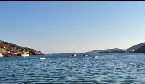 Σίφνος… Μεταφορά Νερού από το ελικόπτερο
