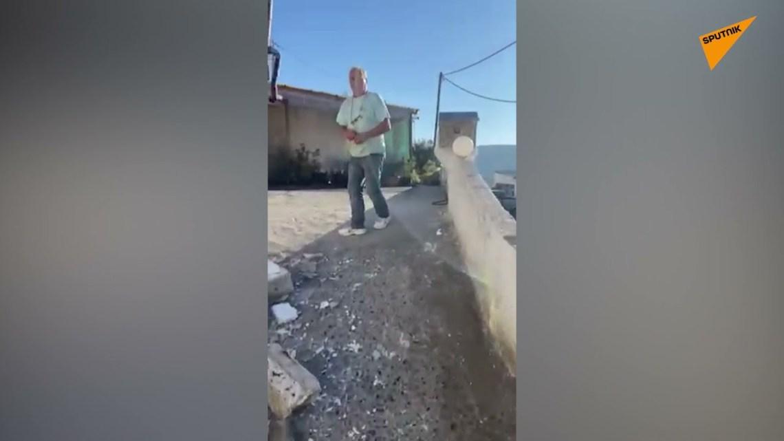 Σεισμός στην Κρήτη: Εικόνες καταστροφής σε σπίτι από το χτύπημα του Εγκέλαδου