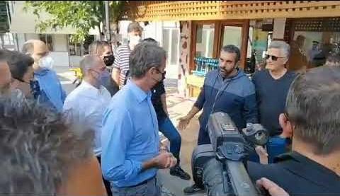 Στην Κρήτη ο Κυριάκος Μητσοτάκης – Ανακοινώνει μέτρα στήριξης