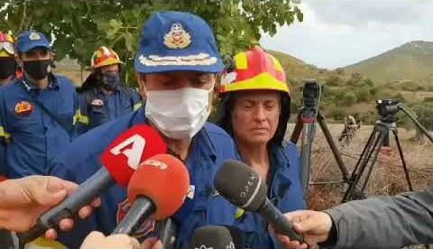 newsbomb.gr: Διοικητής Πυροσβεστικής Περιφέρειας Στερεάς Ελλάδας για τον άτυχο βοσκό στην Εύβοια