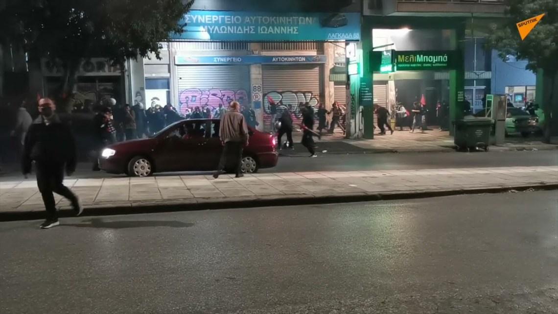 Θεσσαλονικη: Επεισόδια μεταξύ αντιεξουσιαστων – Αστυνομίας