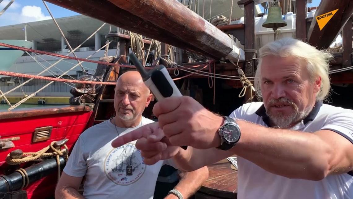 Το Sputnik αποκαλύπτει τα «μυστικά» του ρωσικού ιστιοφόρου Shtandart