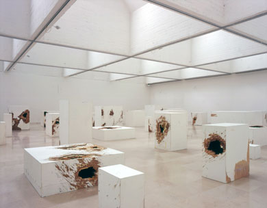 Mike Nelson, Le Cannibale (Parody Consumption and Institutional Critique), 2008