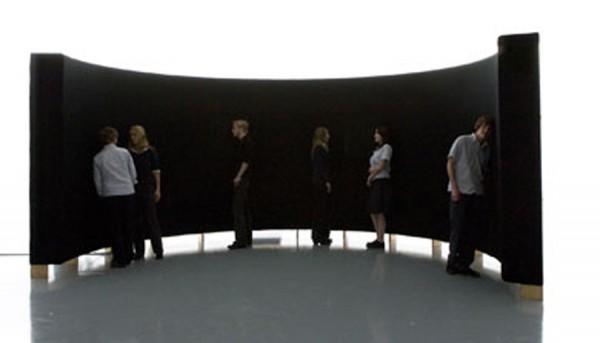 Imogen Stidworthy, I Hate, 2007. Installation view.