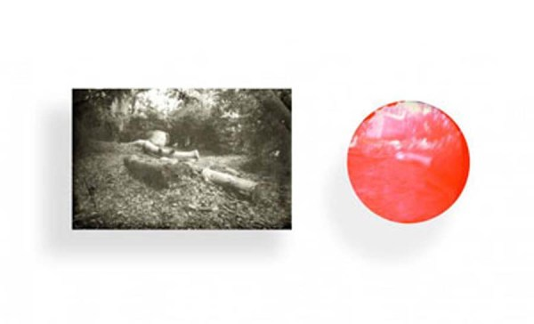 Lindsay Seers, Backlands, 2004/2010. Photograph with mouth photograph counterpart. 400 x 250 x 65mm.