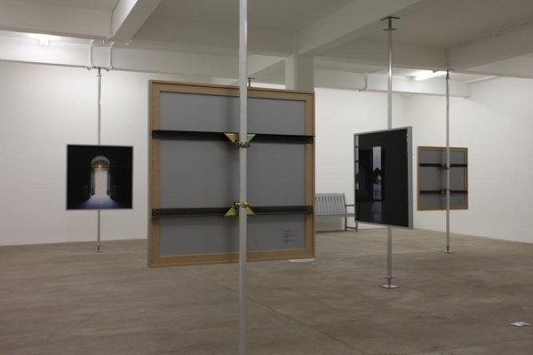 Fiona Crisp, Negative Capability: The Stourhead Cycle, 2012. Installation view at Matt's Gallery.