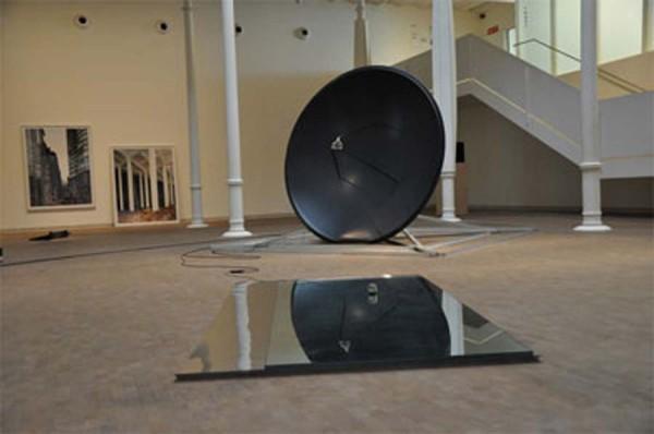 Imogen Stidworthy, The Work Vo3, 2011. Installation view at Fundacio Tapies, Barcelona.