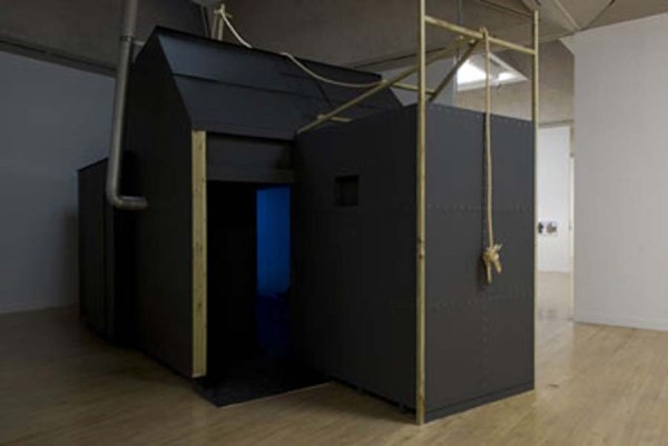 Lindsay Seers, Extramission 6 (Black Maria), 2009. Installation view at Tate Britain. Tate Collection, London.