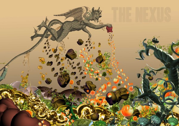 Melanie Jackson, The Nexus book cover image, 2013.