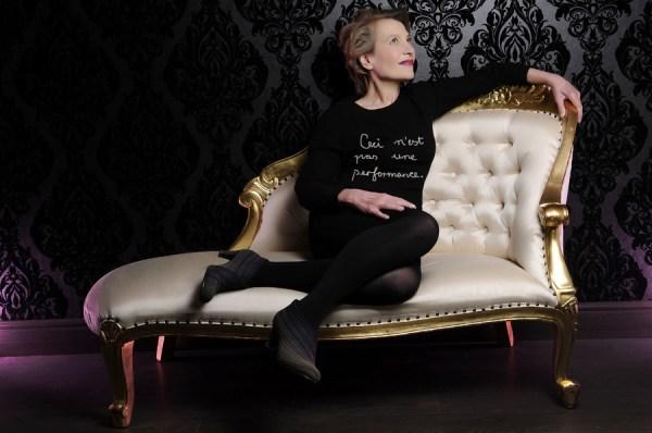 Anne Bean, A-artist:  15 kilometers of musings, 2014.
