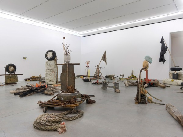 Mike Nelson, Gang of Seven, 2013. Installation view at 303 Gallery, New York, 2015