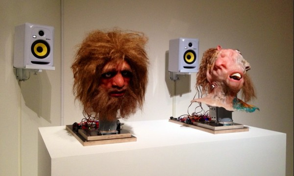 Nathaniel Mellors, Neanderthal Container (Animatronic Prelapse), 2014