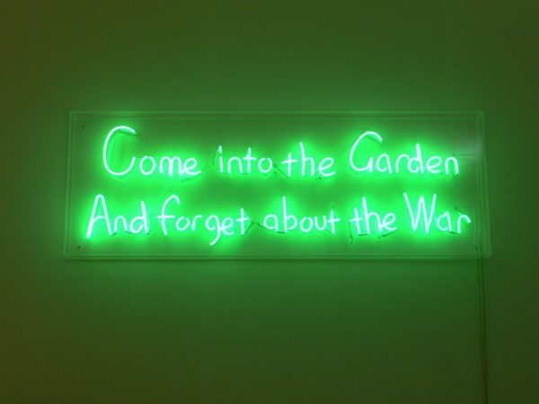 Graham Fagen, War/Garden (after Tubby), 2007. Image courtesy of the artist