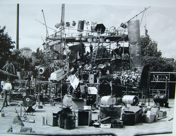 Bow Gamelan Ensemble, Damn near Run Thing, 1986. Image courtesy of the artist