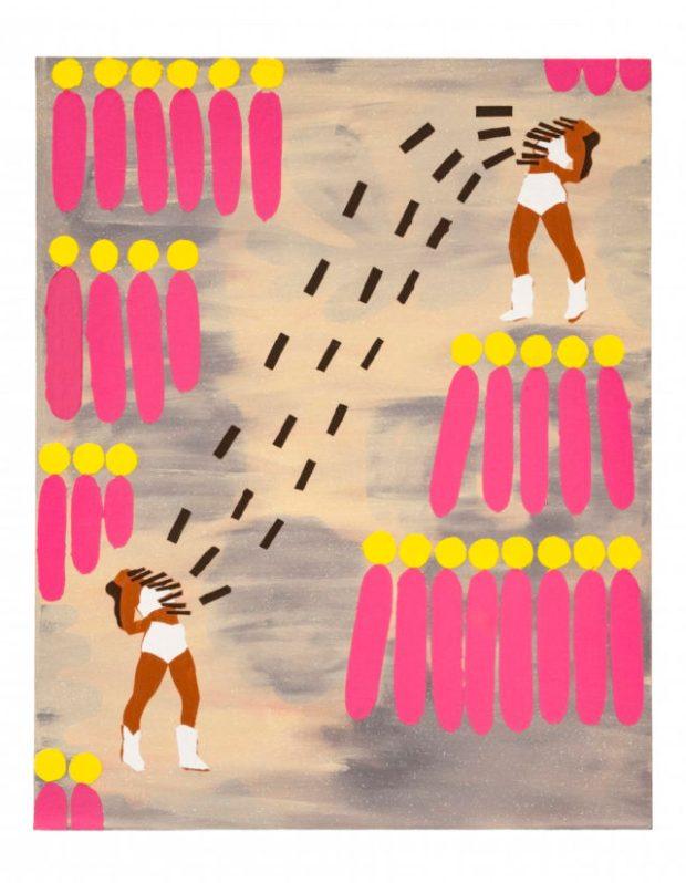 Jo Bruton, Tassel Talk, 2016. Image courtesy the artist and Matt's Gallery, London