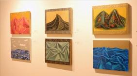 Paintings by Leeah Joo. Photo by Lee Won Park/MEDILL