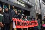 Protesters block MAC store on Michigan Avenue