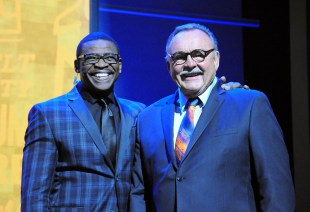 Michael Irvin and Dick Butkus