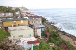 Coastal communities in Puerto Rico are at great risk from sea level rise--which causes erosion and flooding and is worsened by global warming. (Janice Cantieri/MEDILL)