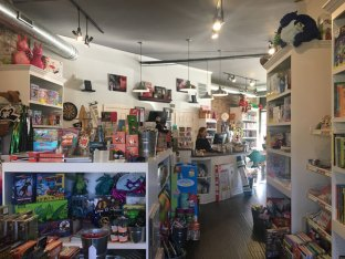 """When the store first opened, Kienzle worried that the 1,000-square-foot space was too big. """"Now, it's almost too small,"""" she says. (Photo by Katherine Lee/MEDILL)"""
