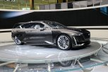 "The Cadillac Escala, voted the best concept car of the Chicago Auto Show 2018, derives its name from the word 'scale."" The Escala is built on an elongated platform used by Cadillac's CT6 but it is about 6 inches longer than the CT6's."