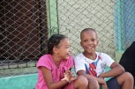 Little kids in Marianao.(Giulia Petroni/MEDILL)