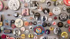 Some buttons from the music and art section.(Annanya/MEDILL)