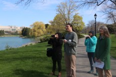Participants ranged from experienced bird watchers to novices. Honn plans to hold more bird walks throughout the year, and Kane's Feminist Bird Club meets monthly.