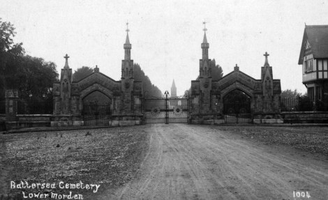 Battersea cemetery, Morden - also known as Morden Cemetery (Archer's burial place)