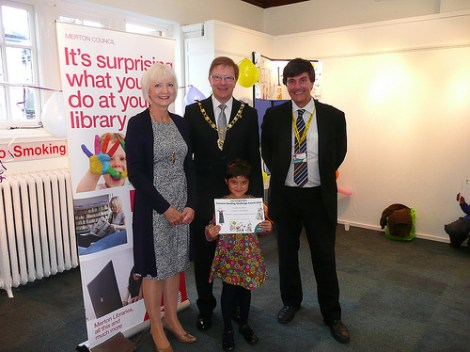 Summer Reading Challenge awards 2013