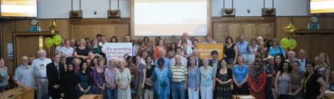 Merton library volunteers 2014