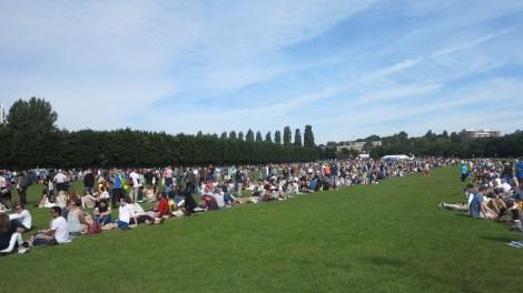 Wimbledon Park queue 2