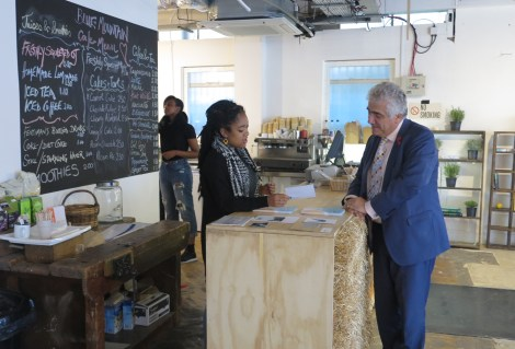 Stephen Alambritis and Atlanta Crawford Crown House Creative Small Business Saturday.jpg