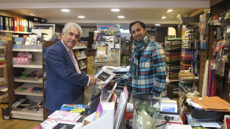 Stephen Alambritis and Guamit Saini South London Printers Small Business Saturday.jpg